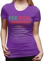 Hera-Boom ATee Portugal Champions Euro 2016 Tshirts For Woman