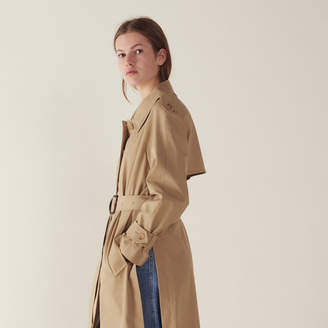 Sandro Belted Trench-Style Coat