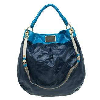 Marc by Marc Jacobs Navy Patent leather Handbags