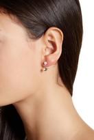 Candela 10K Yellow Gold 5mm Pearl & Crystal Earrings