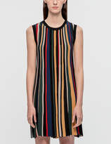 Sjyp Stripe Knit Dress