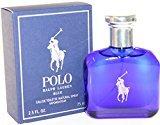 Ralph Lauren Polo Blue by for Men, Eau De Toilette Natural Spray, 2.5 Ounce