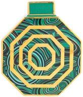 Jonathan Adler Malachite Oct Vase, Green