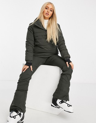 Protest Gaby ski jacket in black