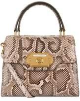 Dolce & Gabbana Snakeskin Welcome Handbag