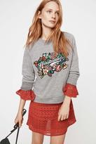 Rebecca Minkoff Heartbreaker Patch Sweatshirt