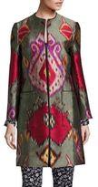 Etro Ikat Printed Coat