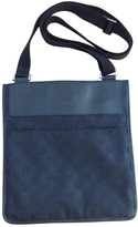 Gucci Black Cloth Handbag