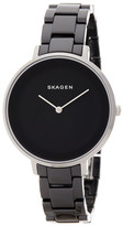 Skagen Women's Black Ceramic Quartz Watch