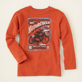 Children's Place Motorcycle graphic tee