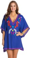Nanette Lepore Flora Fiesta Embroidered CoverUp Tunic - 8123064