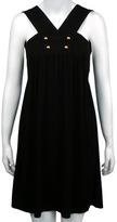 Black Empire Mini Dress