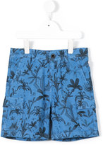 Paul Smith floral print shorts - kids - Cotton/Linen/Flax - 3 yrs