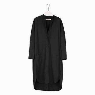Humanoid Dirah Dress - Blackish - xsmall   cotton   black - Black/Black