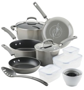 Rachael Ray Nonstick 19-Pc. Cookware Set