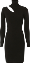A.L.C. West Dress Cutout Turtleneck Dress