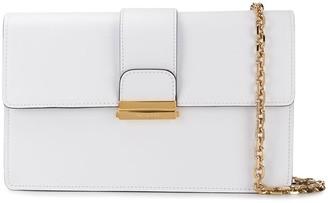 Casadei two-tone clutch bag