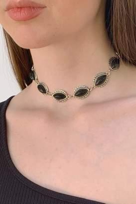 Wild Lilies Jewelry Black Choker Necklace