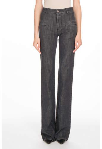 Altuzarra High-Waist Boot-Cut Stretch-Denim Jeans