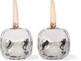 Pomellato Nudo Classic 18-karat Rose Gold Topaz Earrings
