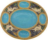 One Kings Lane Vintage Majolica Minton Mythological Platter