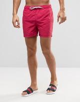 Tommy Hilfiger Swimshorts In Red