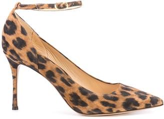 Marion Parke Muse leopard pumps
