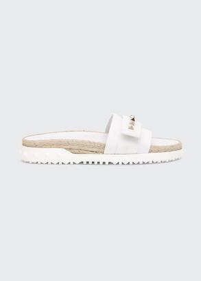 Valentino 35mm Rockstud Sport Slide Sandals