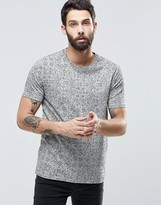 ONLY & SONS T-Shirt with All Over Scribble Print