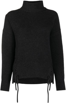 P.A.R.O.S.H. Leccio lace-up jumper