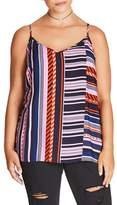 City Chic Plus Size Women's Super Stripe Cami
