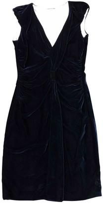 Prada Blue Velvet Dresses