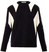 Givenchy Patchwork knit sweater