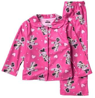AME Minnie Mouse 2-Piece Pajama Set (Toddler Girls)