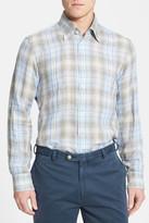 Robert Talbott Woven Linen Classic Fit Sport Shirt