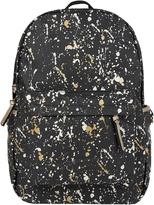 Accessorize Paint Splash Foil Printed Backpack