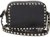 Valentino 'Rockstud' Calfskin Leather Camera Crossbody Bag