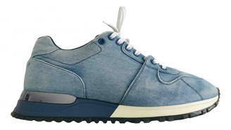 Louis Vuitton Run Away Blue Denim - Jeans Trainers