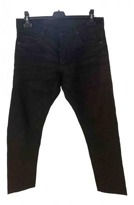 Rick Owens Black Cotton Jeans