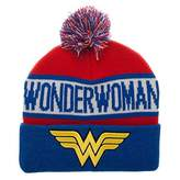 Bioworld DC Comics Wonder Woman Reflective Cuff Beanie