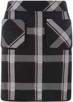 Dorothy Perkins Black Checked Mini Skirt