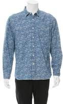 Alex Mill Floral Print Chambray Shirt w/ Tags