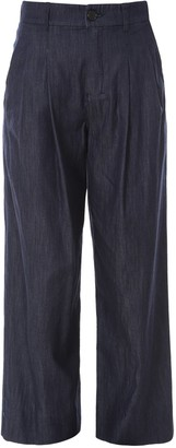 S Max Mara 'S Max Mara Denim Wide-Leg Trousers