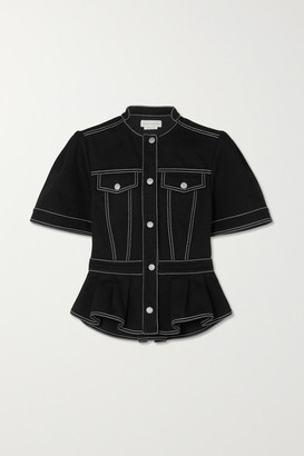 Alexander McQueen Denim Shirt - Black