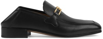Gucci Leather loafer with Interlocking G