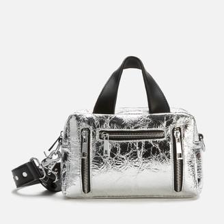 Nunoo Women's Mini Donna Cool Metallic Bag - Silver