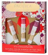 Pacifica Natural Color Quench Lip Tint Trio Collection - .45oz