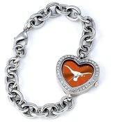Game Time Women's COL-HEA-TEX NCAA Heart Series Texas Longhorns Watch