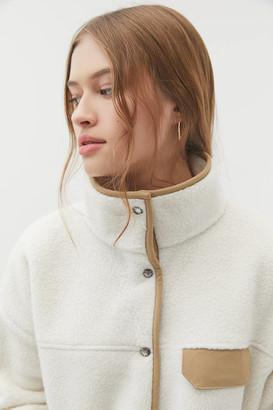 The North Face Cragmont Fleece Snap Button Jacket