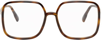 Christian Dior Brown Tortoiseshell SoStellaire01 Glasses